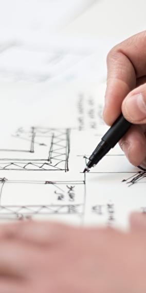 Conférence BuilDrone : une nouvelle vision du chantier - Visite