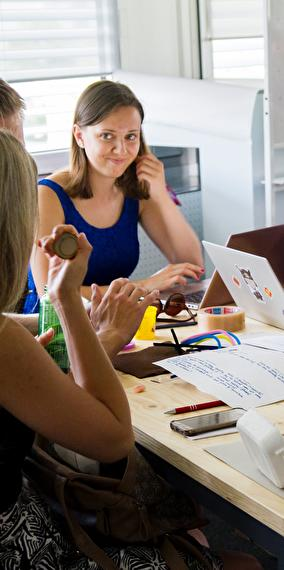 How to think and act like a designer - Workshop